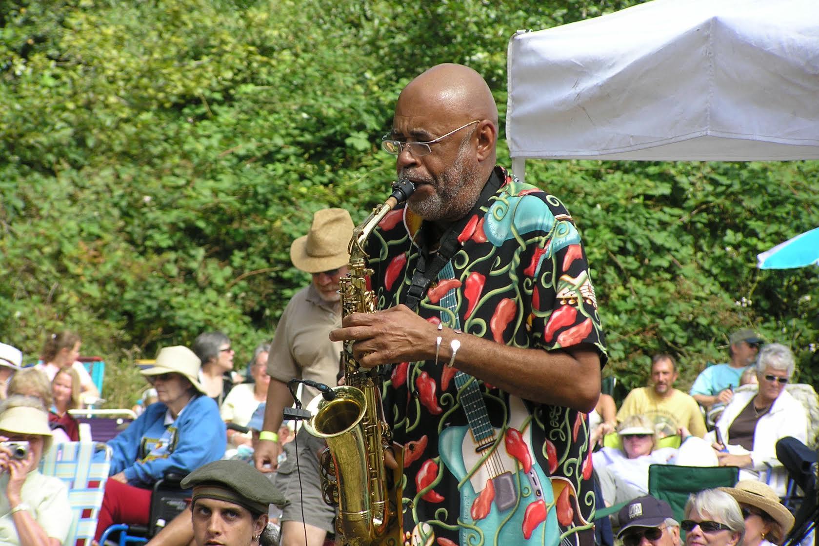 Jazz and Oysters 2014 Reggie Houston