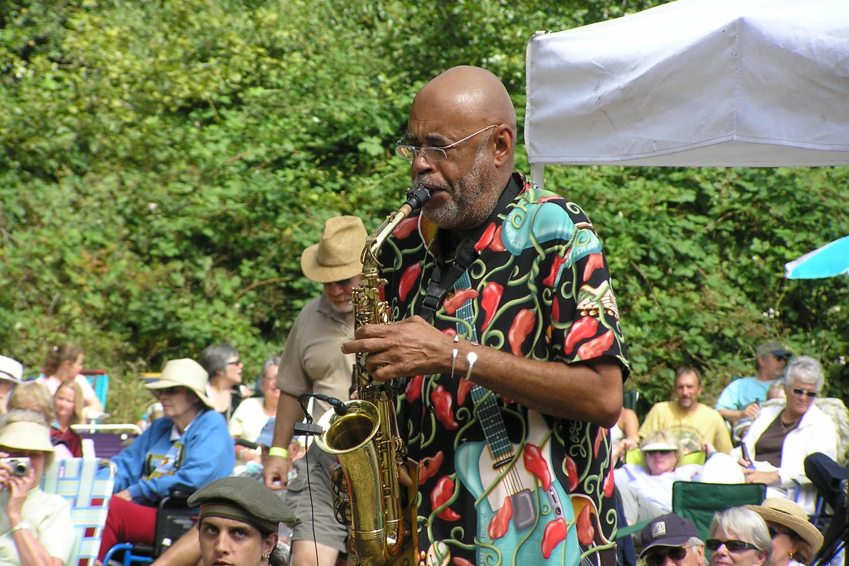 Jazz and Oysters 2014 Reggie Houston