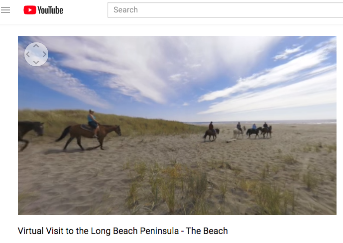LONG BEACH PENINSULA RELEASES FIRST OF THREE 360° VR VIDEOS