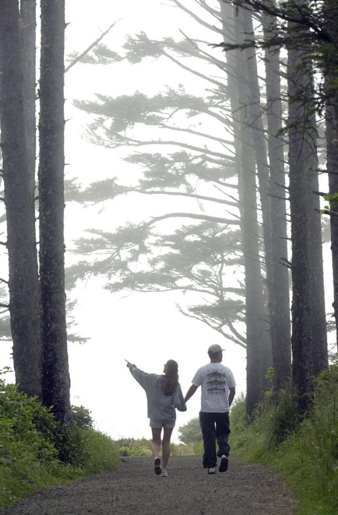 LONG BEACH PENINSULA OFFERS TERRIFIC SPRING HIKING FOR THOSE WHO AREN'T AFRAID OF THE MUD
